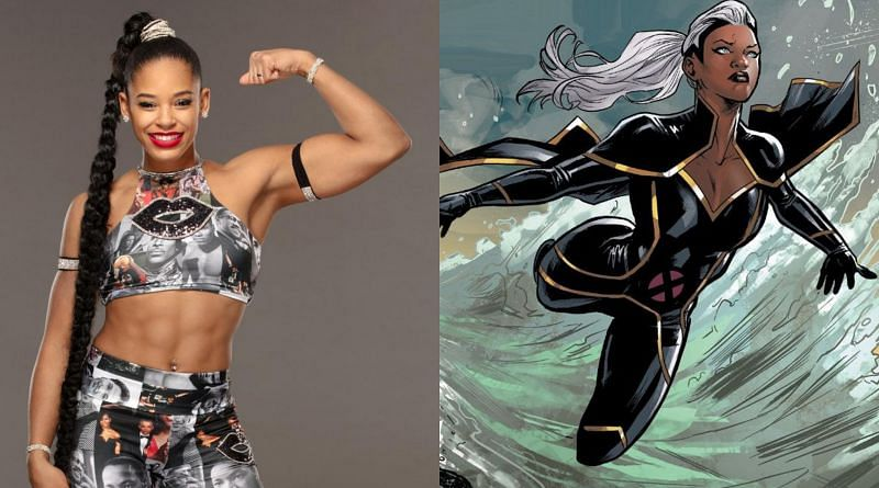 Bianca Belair would like to join the Marvel Universe