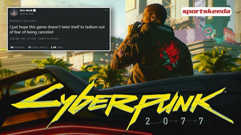 Elon Musk thinks Cyberpunk 2077 is running the risk of