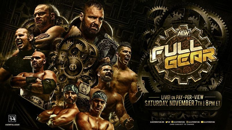 Saturday night, AEW returns to pay per view with Full Gear 2020.