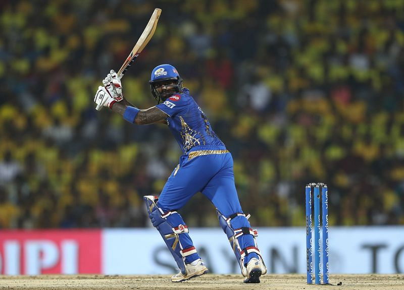 Suryakumar Yadav plays for the Mumbai Indians in the IPL.