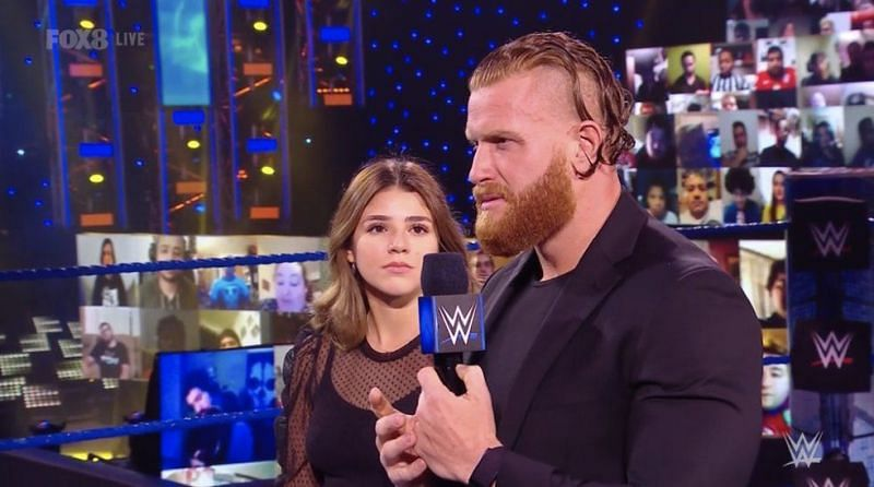 WWE seems to have big plans for Buddy Murphy and Aalyah.