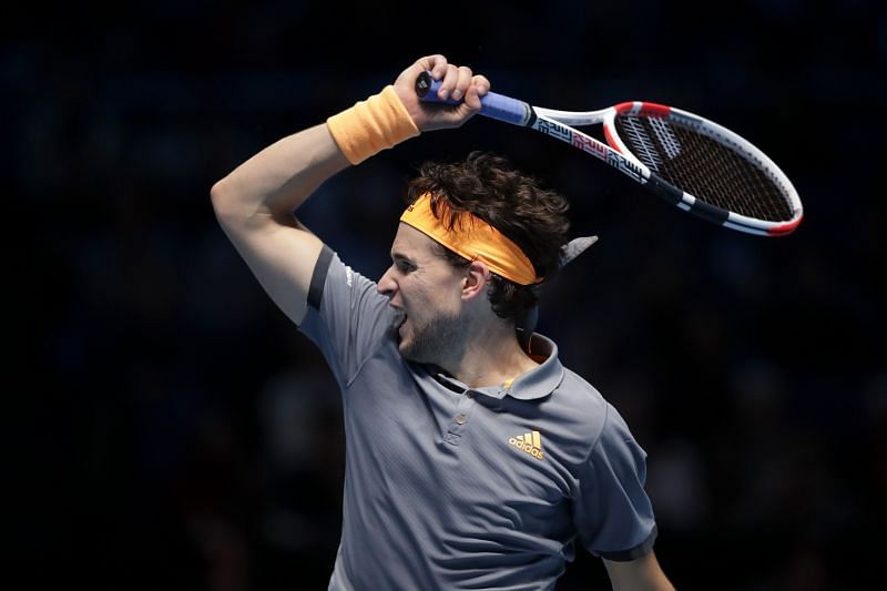 Dominic Thiem at the 2019 ATP Finals