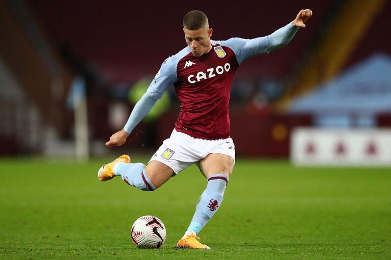 Barkley in action for Aston Villa