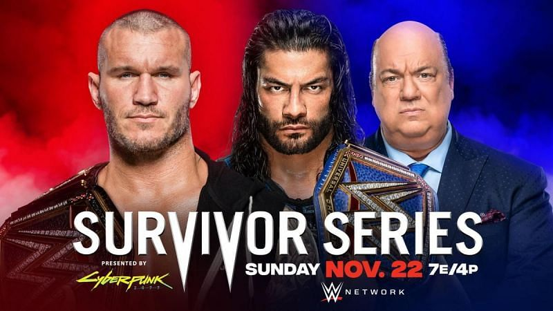Roman Reigns and Randy Orton battle each other at Survivor Series