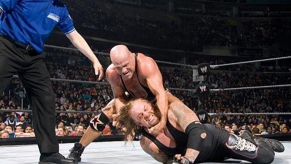 The Undertaker and Kurt Angle
