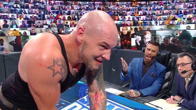 King Corbin on SmackDown