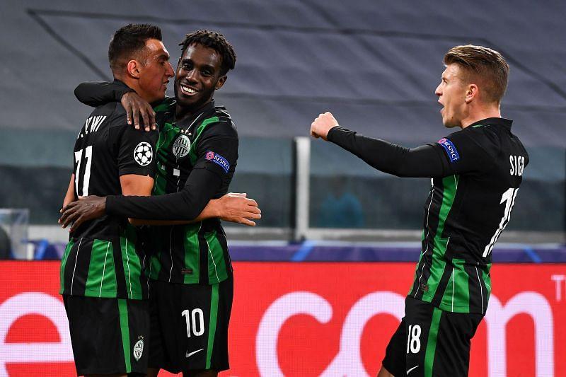 Ferencvaros showed promise against Juventus