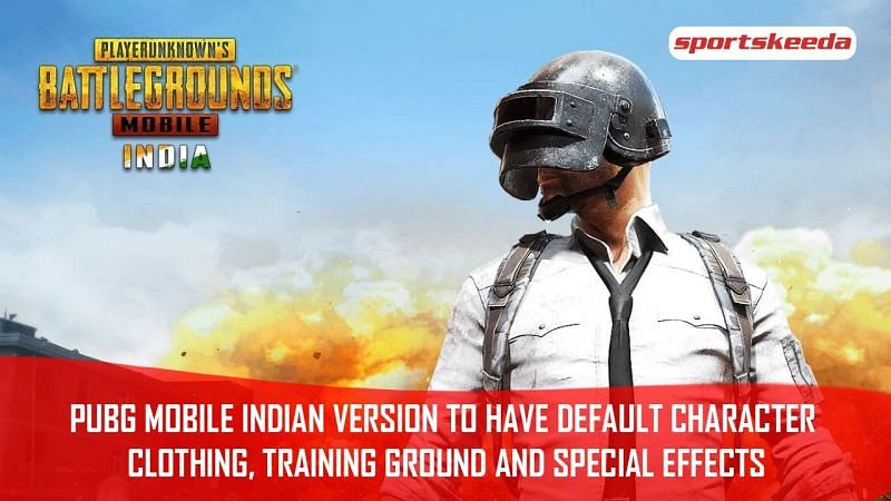 PUBG Mobile Indian version to have default character clothing, training ground, and special effects