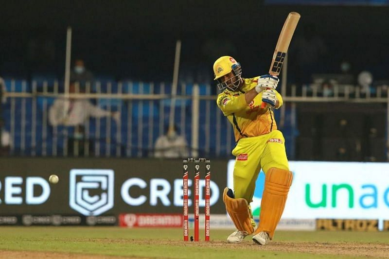 MS Dhoni came in as low as No. 7 against RR