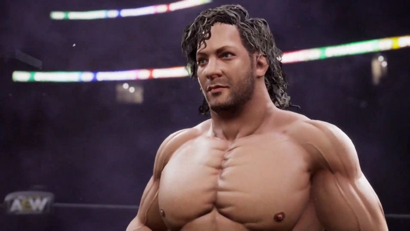 Your first look at Kenny Omega in the AEW console game being developed by Yuke