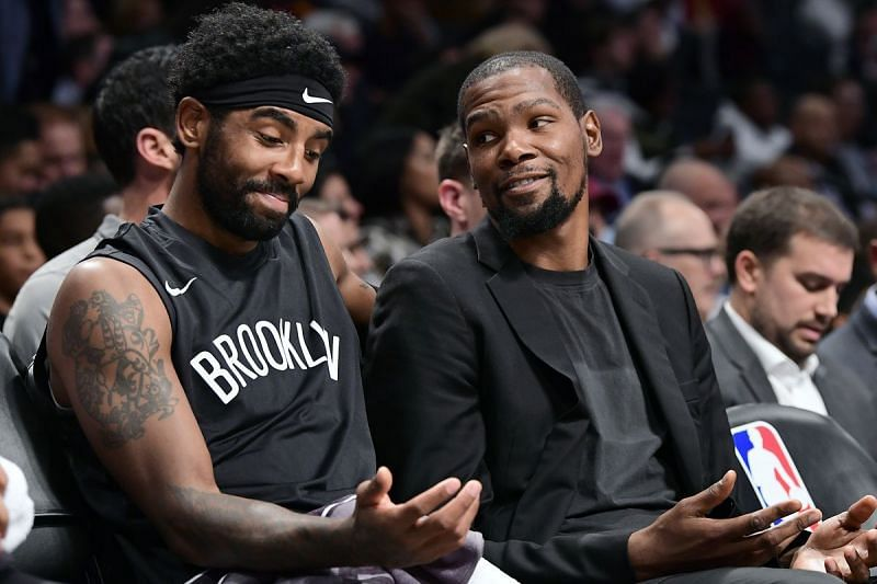 Brooklyn Nets All-Stars: Kyrie Irving and Kevin Durant