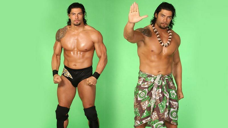 Roman Reigns performed as Leakee in FCW