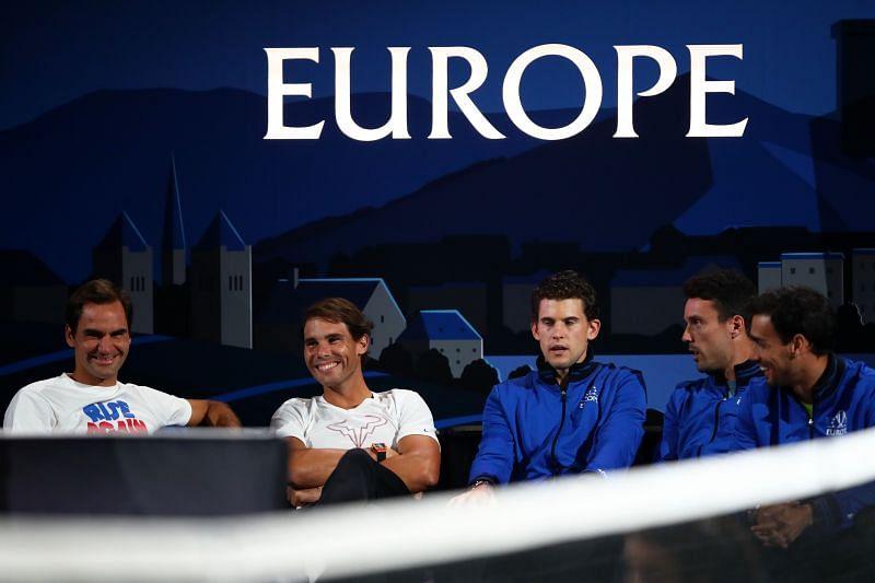 Andrey Rublev praised Roger Federer, Rafael Nadal and Dominic Thiem