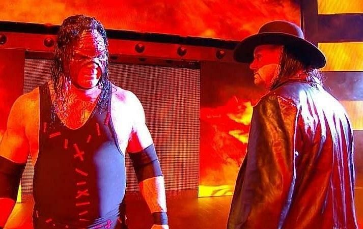 Kane and The Undertaker agreed that Reigns should have ended the Streak