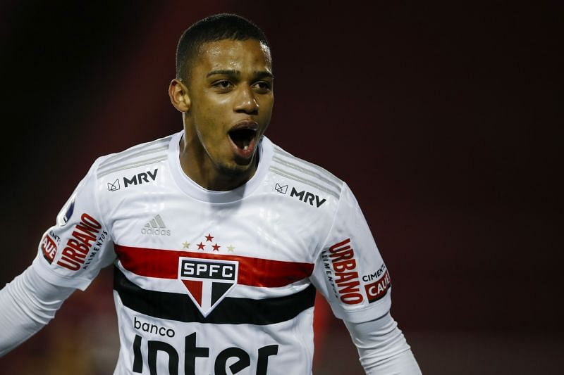 Sao Paulo striker Brenner