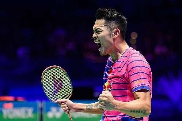 Lin Dan at the 2016 All England Open