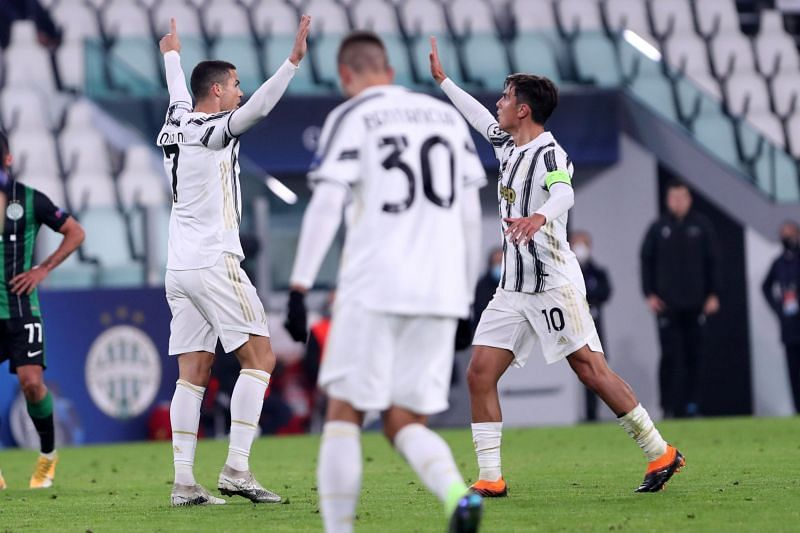 Juventus storm into last-16 after a hard-fought 2-1 win over Ferencvaros