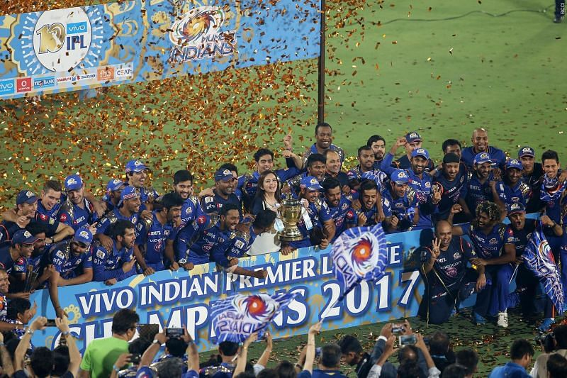 MI beat RPS by just 1 run to win the 2017 IPL Final.