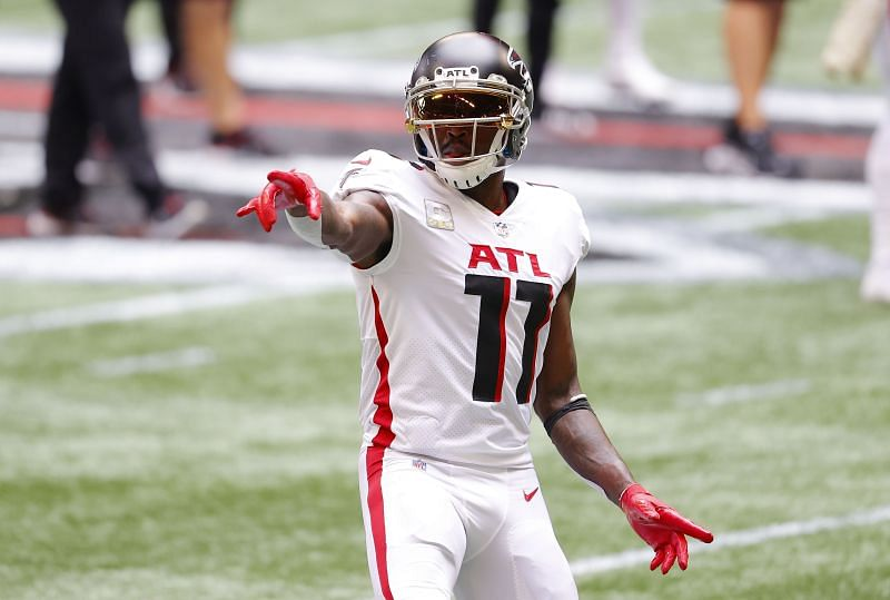 Atlanta Falcons WR Julio Jones recorded 54 yards and a touchdown against the Denver Broncos