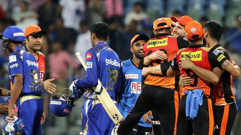 सनराइजर्स  vs मुंबई इंडियंस