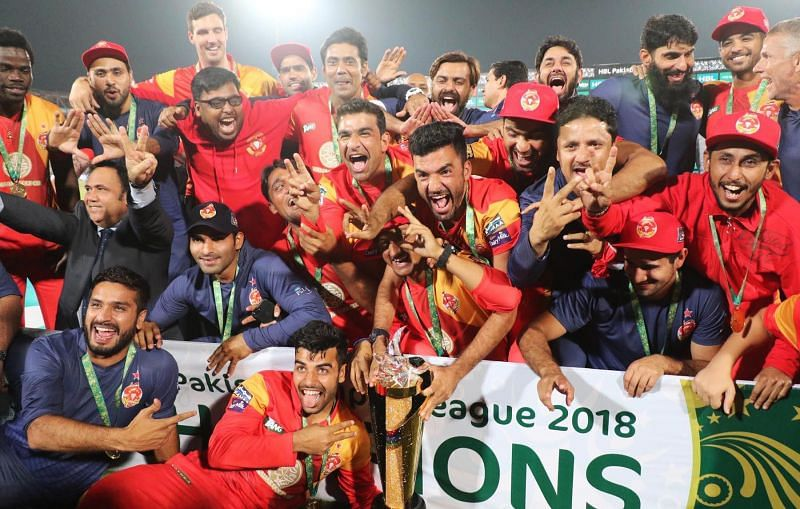Islamabad United became the first side to win two PSL crowns