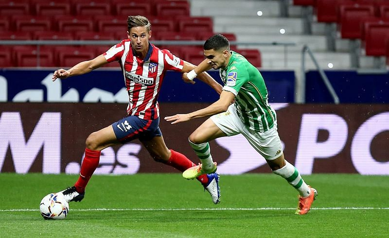 Marcos Llorente has made a bright start to the new season for Atletico Madrid.