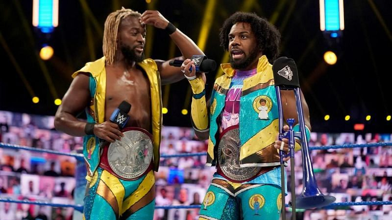 A new rivalry seems to be building for The New Day