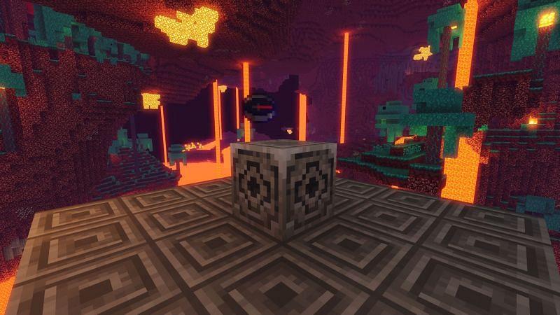 Lodestone, and lodestone compass. Image via Minecraft