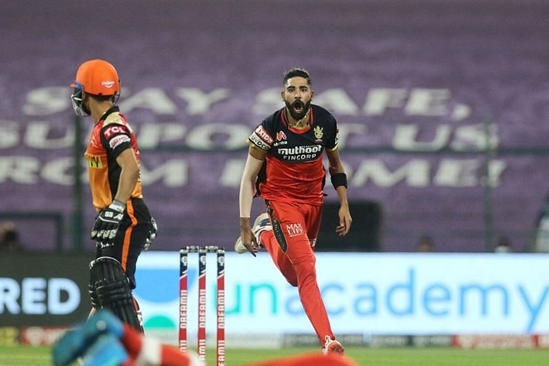 Mohammed Siraj has given a decent account of himself in IPL 2020 [P/C: iplt20.com]