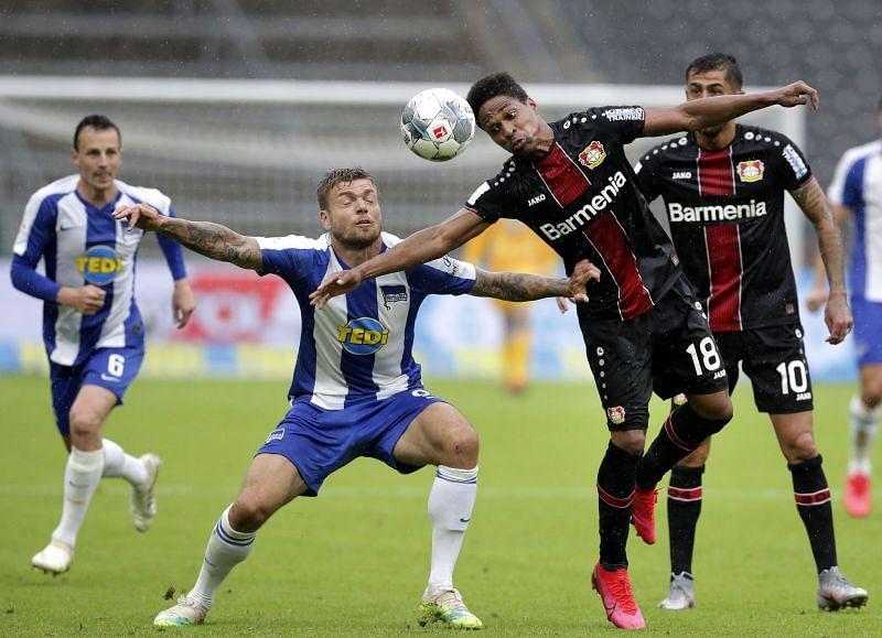 Hertha BSC take on Bayer Leverkusen this weekend
