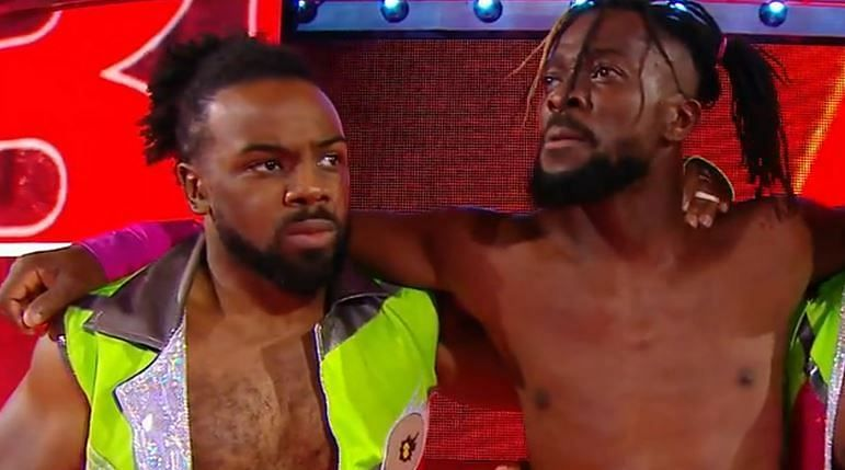 Xavier Woods and Kofi Kingston