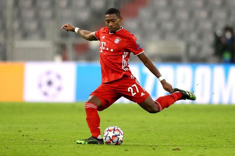 Bayern Munich star David Alaba