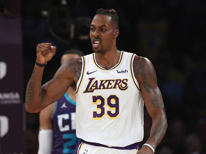 Dwight Howard was one of the superstars who did not win a ring with the LA Lakers.