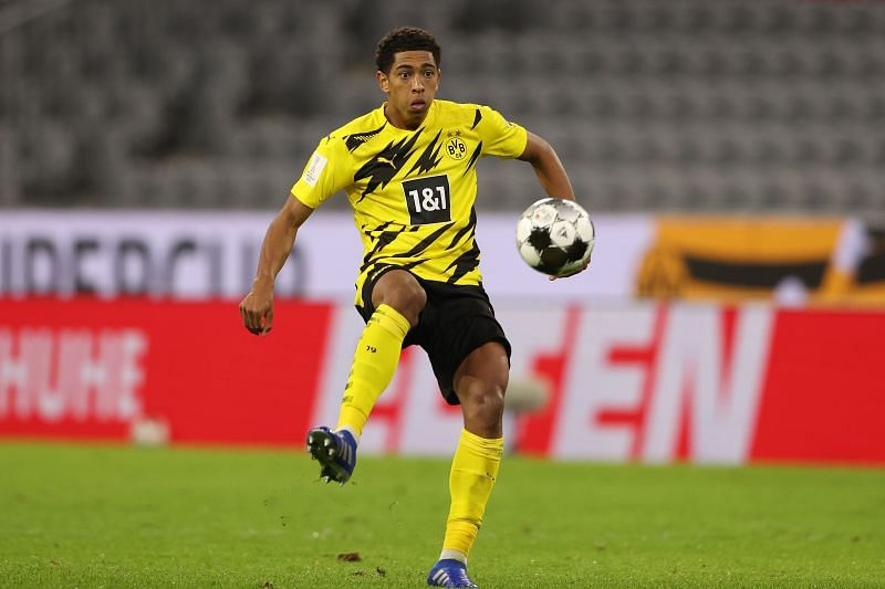 Jude Bellingham in action for Borussia Dortmund