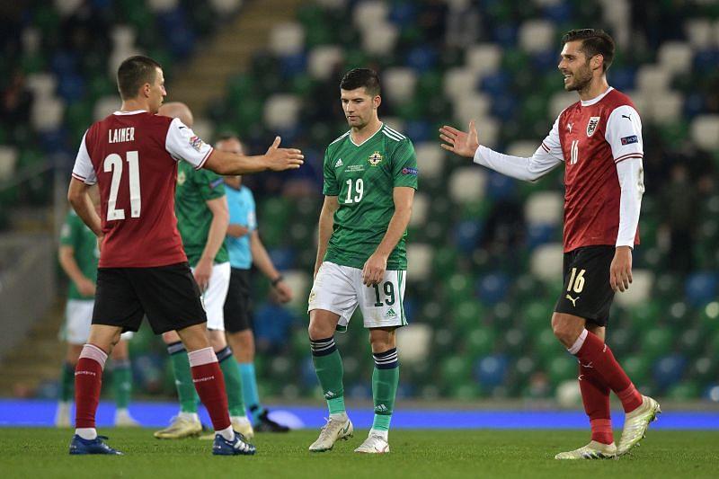 Northern Ireland take on Austria this weekend