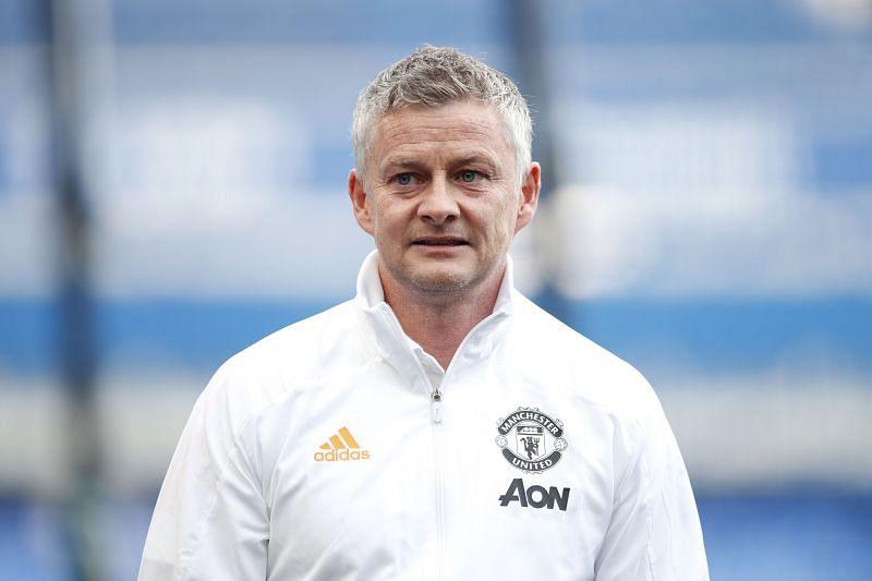 Ole Gunnar Solskjaer, manager of Manchester United