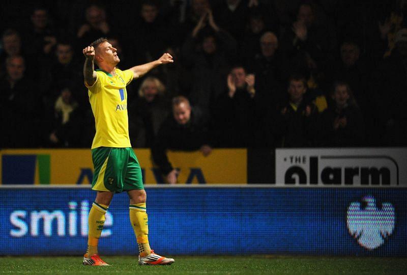 Pilkington scored a winner for Norwich against Manchester United