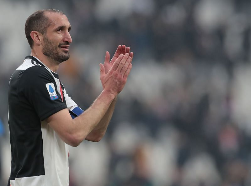 Chiellini might make a return for Juventus