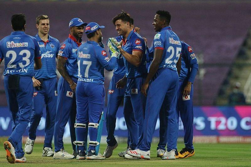 The Delhi Capitals have lost to MI thrice in IPL 2020 (Credits: IPLT20.com)