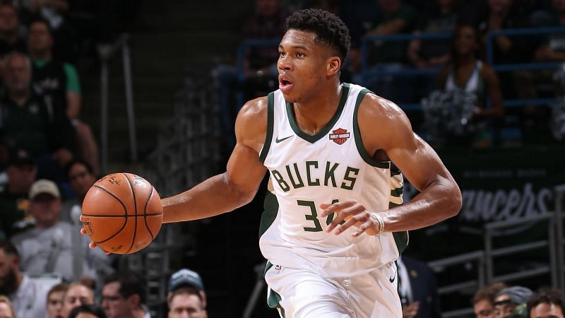 Giannis averaged 29.5 PPG on his way to his second MVP award in the 2019/20 season