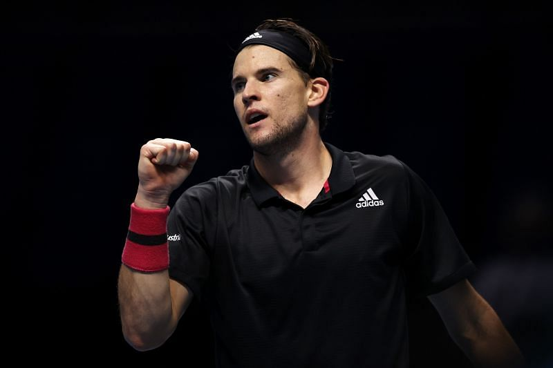 Dominic Thiem has been the busiest player on tour this year