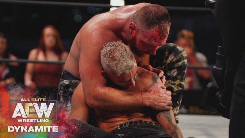 Darby Allin and Jon Moxley faced off for the AEW World Championship on AEW Dynamite 8/5/20!