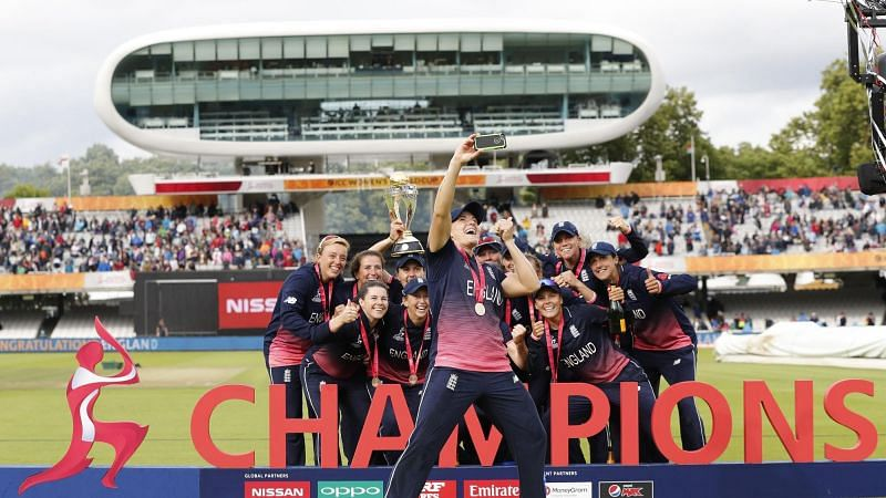 England are the current holders of the 50-over World Cup