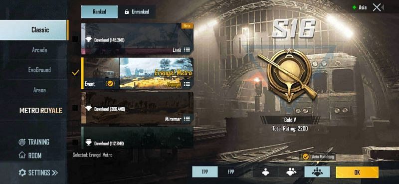 Gameplay modes in PUBG Mobile