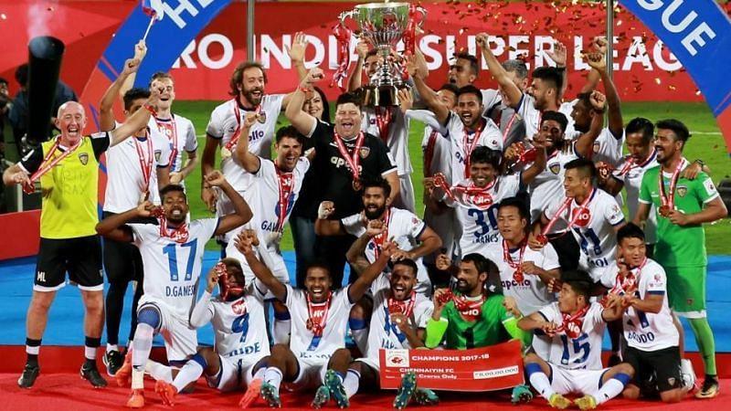 2017-18 ISL winners Chennaiyin FC