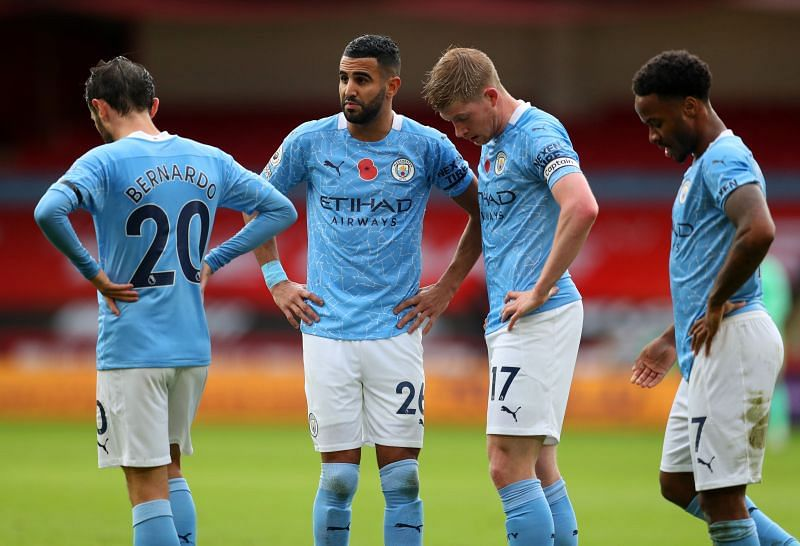 Manchester City take on Olympiacos this week