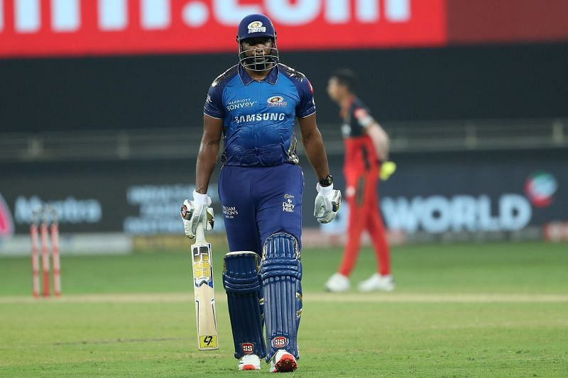 Kieron Pollard deservedly won the Altroz Car for his stupendous performances in IPL 2020 (Image Credits: IPLT20.com)