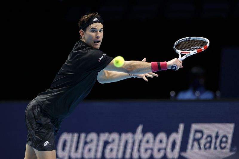 Dominic Thiem at the Nitto ATP Finals 2020