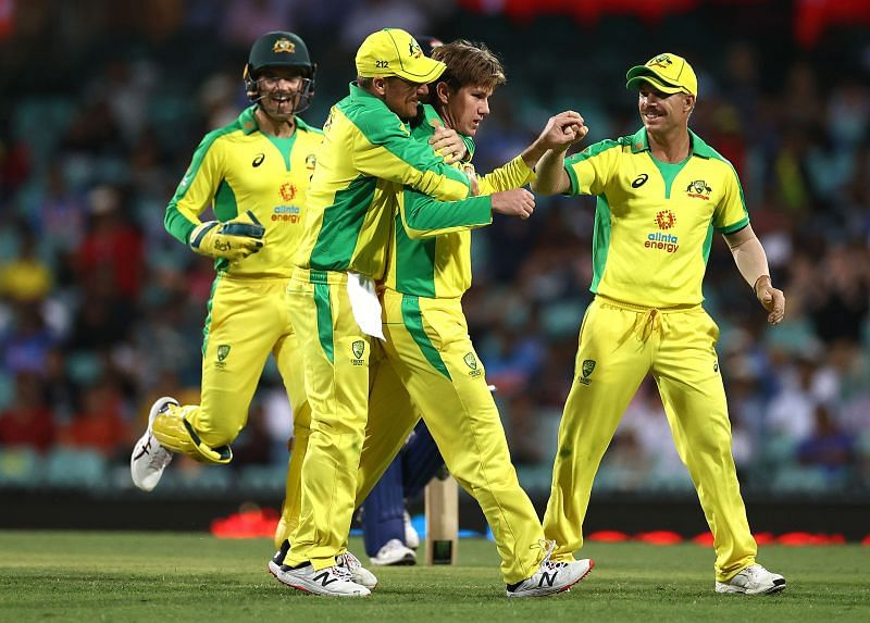 Adam Zampa and Josh Hazlewood shared 7 wickets between them in the opening match