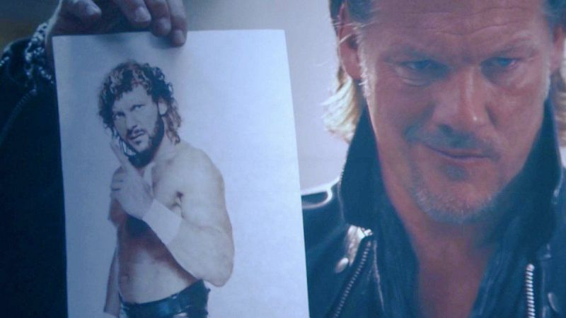 Chris Jericho challenged Kenny Omega after the latter